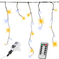 VOLTRONIC® 400 LED Lichterkette Eisregen, warm/kalt, FB