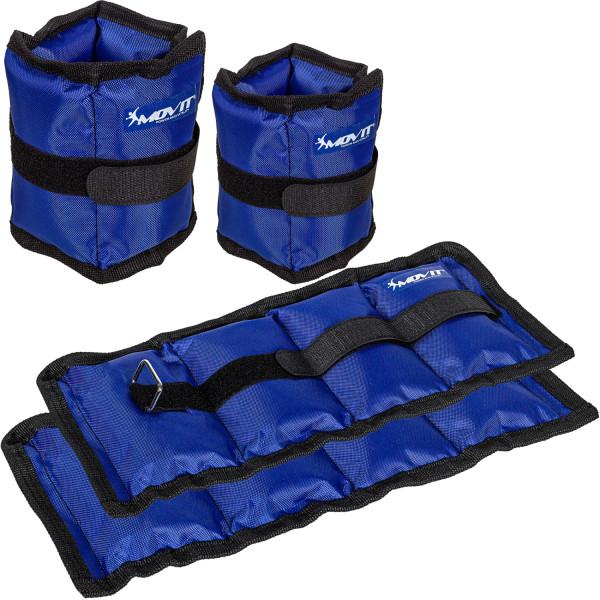 MOVIT® Gewichtsmanschetten, 4er Set, blau