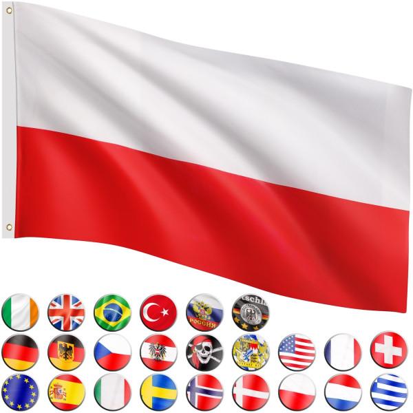 FLAGMASTER® Fahne Polen Flagge