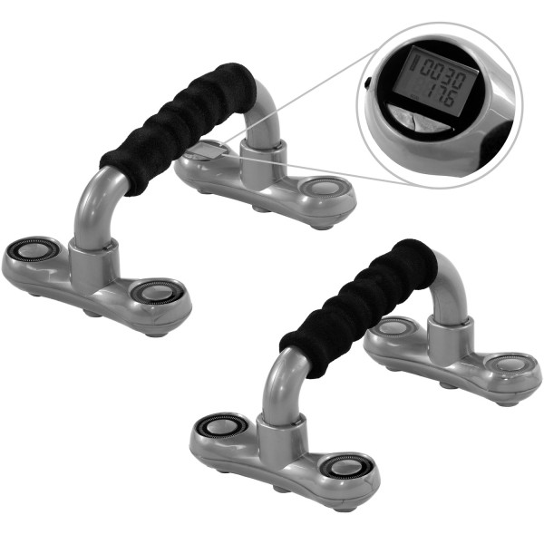 MOVIT® Push up Bar, Liegestützgriffe inkl. Computer