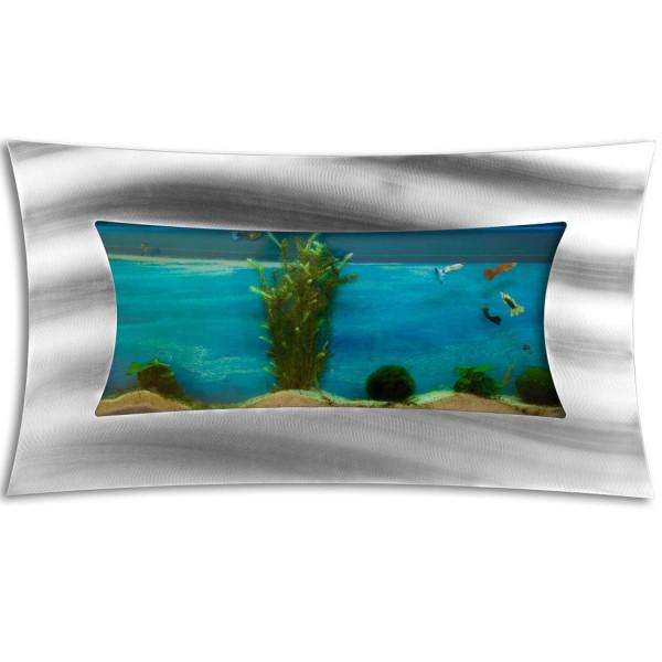 Wandaquarium, Aquarium Komplett-Set 590x325x110mm