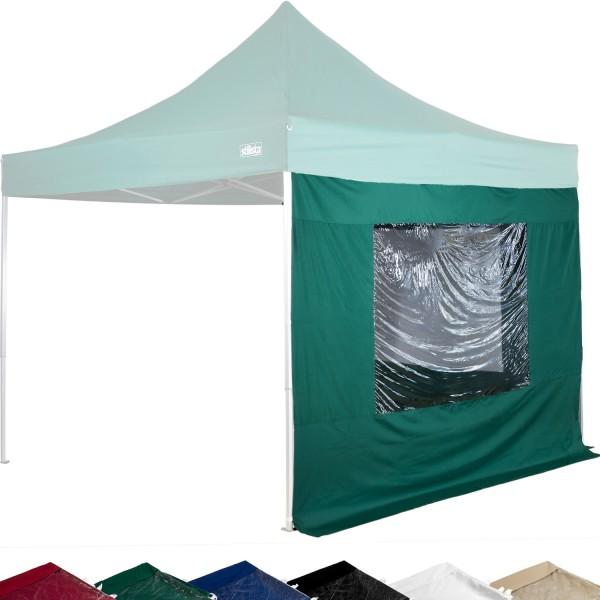 STILISTA® Seitenteile Fenster Pavillon 2er Set grün, 3x3m