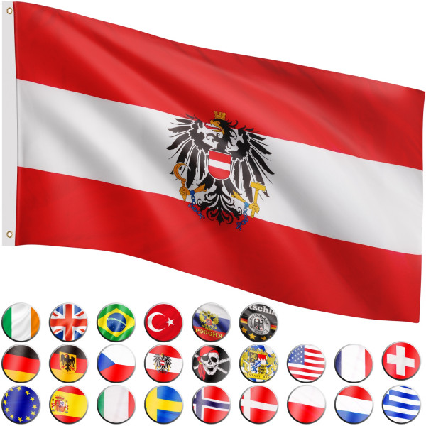 FLAGMASTER® Fahne Österreich Flagge