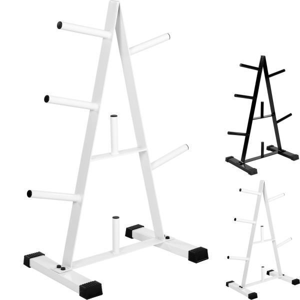 MOVIT® Scheibenständer, Hantelscheibenständer weiß