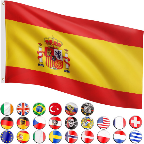FLAGMASTER® Fahne Spanien Flagge