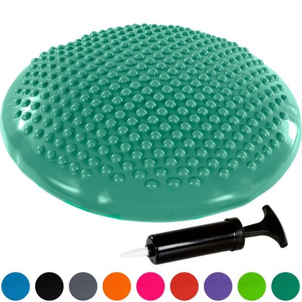 MOVIT® Ballsitzkissen, Sitzhilfe Durchmesser 37 cm, Türkis