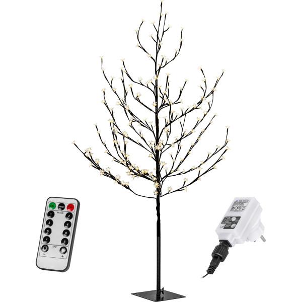 Voltronic® Kirschblütenbaum 220 cm mit Beleuchtung und FB