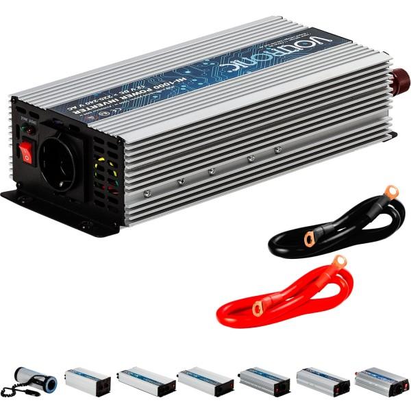 VOLTRONIC® Spannungswandler Inverter 12V auf 230V 1000W