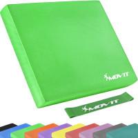 MOVIT® Balance Pad Sitzkissen grün mit Gymnastikband