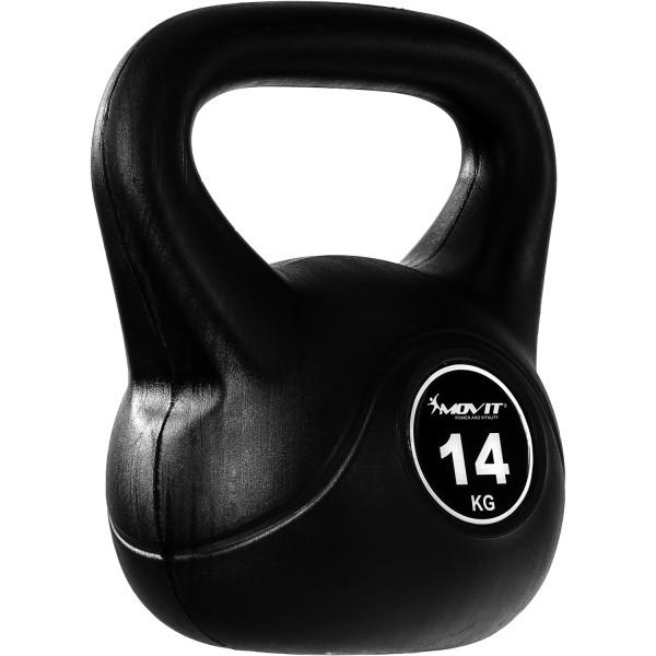 MOVIT® Kettlebell Kugelhantel 14 kg Rundgewicht Kugelgewicht