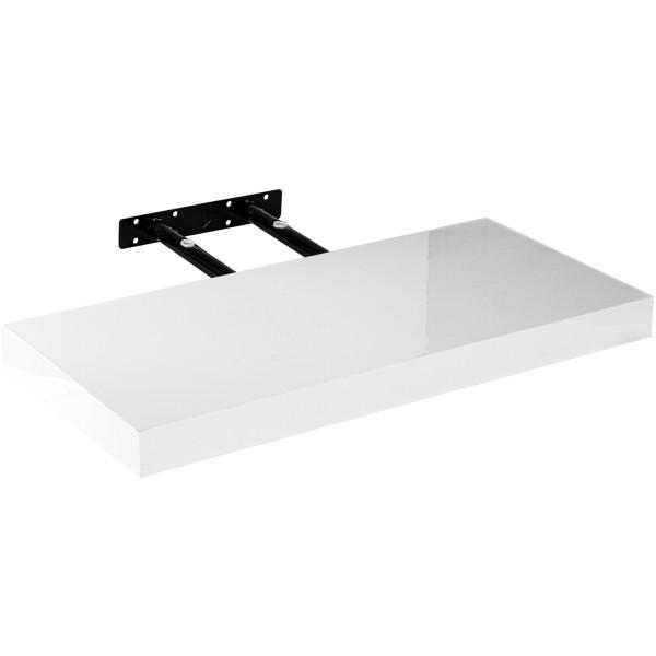 """STILISTA® Wandboard """"Volato"""", Länge 50 cm, Hochglanz Weiß"""