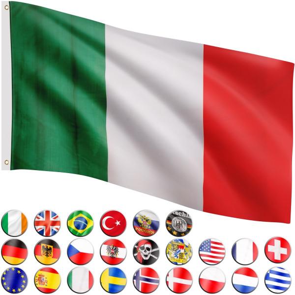 FLAGMASTER® Fahne Italien Flagge