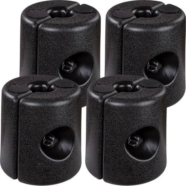 INSTENT 4er Set Fußgewichte Standfüße für Pavillon schwarz