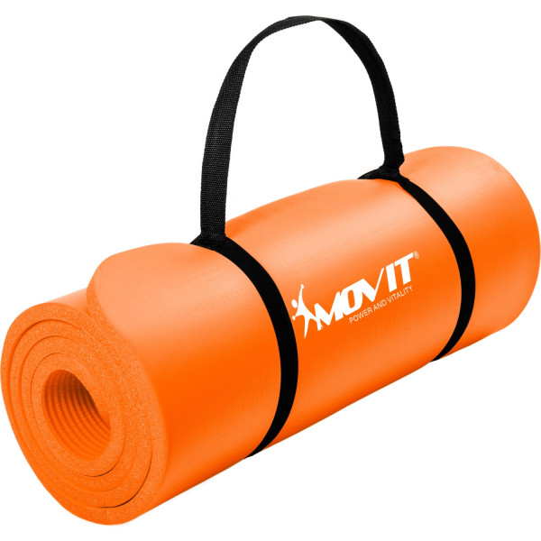 MOVIT® Gymnastikmatte, 190x60x1,5cm, Orange