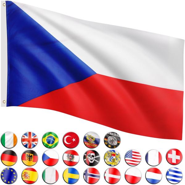 FLAGMASTER® Fahne Tschechien Flagge