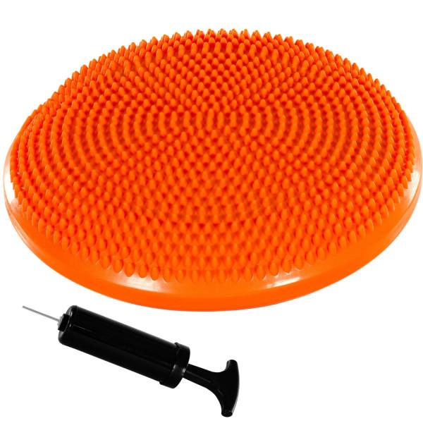MOVIT® Ballsitzkissen, Sitzhilfe Durchmesser 33 cm, Orange