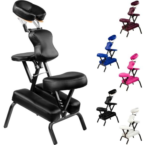 MOVIT® Massagestuhl, Massageliege, Schwarz