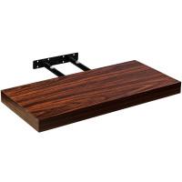 """STILISTA® Wandboard """"Volato"""", Länge 50 cm, dunkles Holzdekor"""