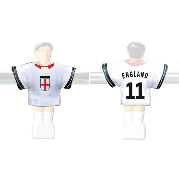 Kicker-Trikot Tischfussball Zubehör, Trikot-Set England