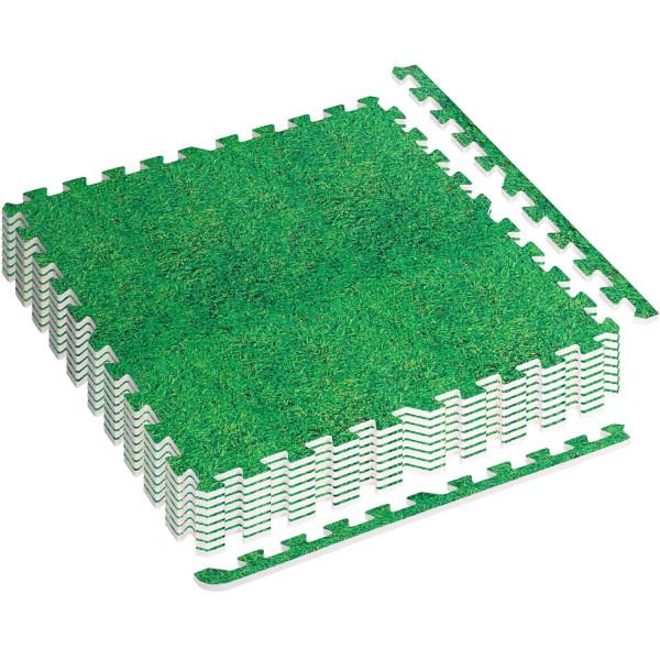 MOVIT® Schutzmatten Set 3m² Printdekor Gras