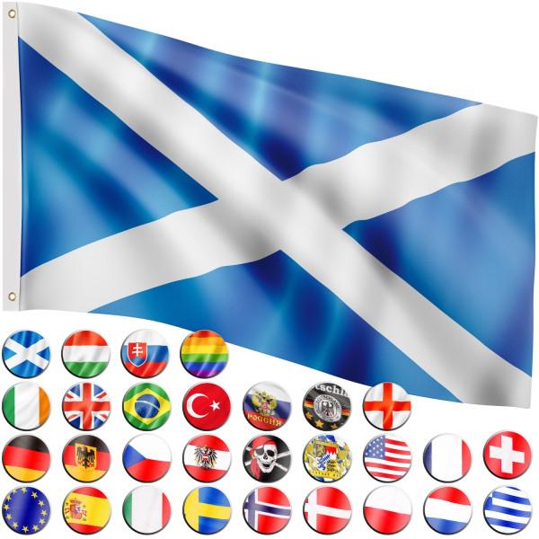 FLAGMASTER® Fahne Schottland Flagge