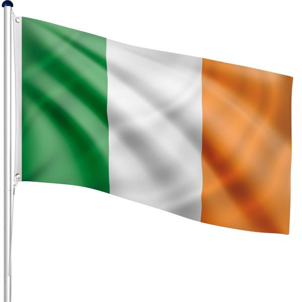 FLAGMASTER® Aluminium Fahnenmast Irland 6,50m