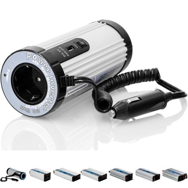 VOLTRONIC® Spannungswandler Inverter 12V auf 230V 200W 400W