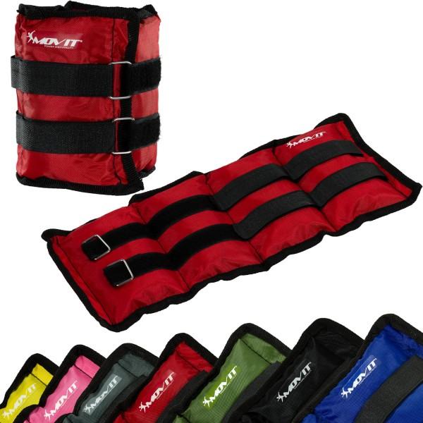 MOVIT® Gewichtsmanschetten, 2x 2,0 kg Laufgewichte