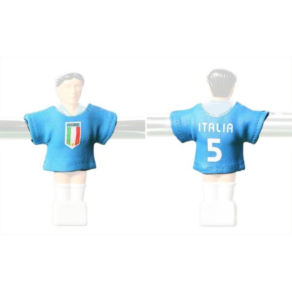 Kicker-Trikot Tischfussball Zubehör, Trikot-Set Italien