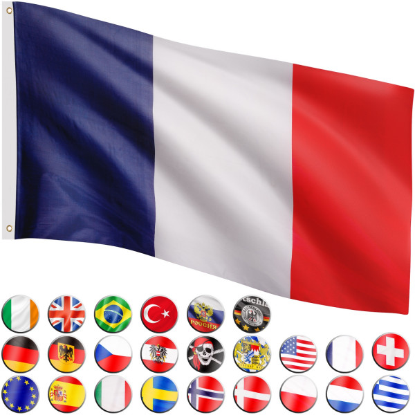 FLAGMASTER® Fahne Frankreich Flagge