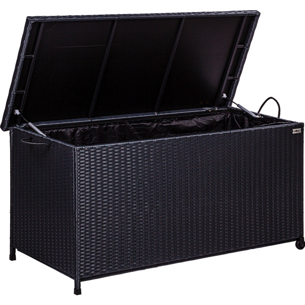 STILISTA Auflagenbox, Farbe Schwarz
