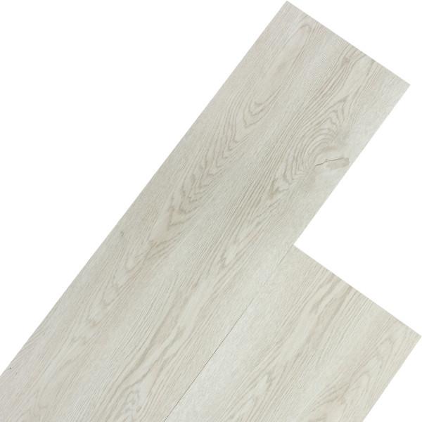 STILISTA® 5,07m² Vinylboden, Eiche klassisch weiß