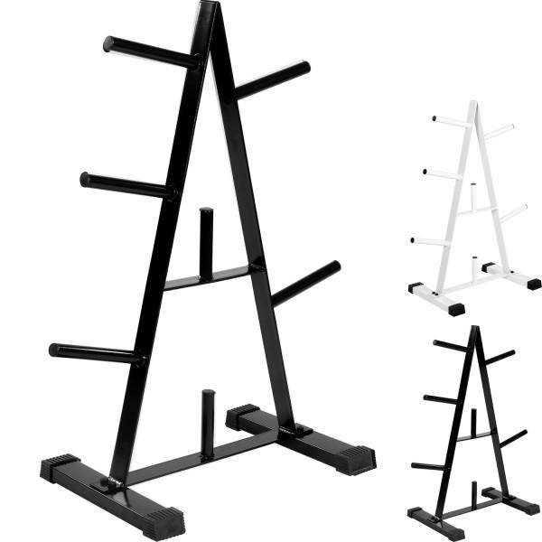 MOVIT® Scheibenständer, Hantelscheibenständer schwarz