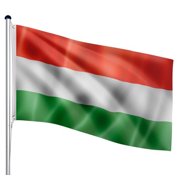 FLAGMASTER® Aluminium Fahnenmast Ungarn 6,50m
