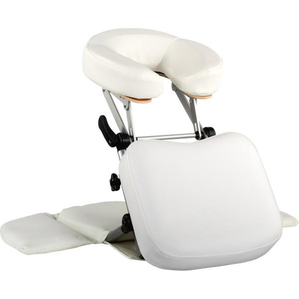 MOVIT® Massage Tischaufsatz, Massage Kopfstütze, Weiß