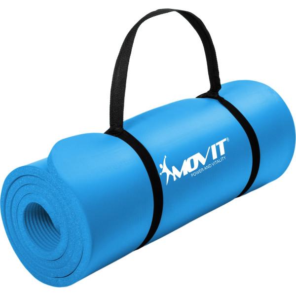 MOVIT® Gymnastikmatte, 183x60x1,0 cm, Yogamatte, Himmelblau