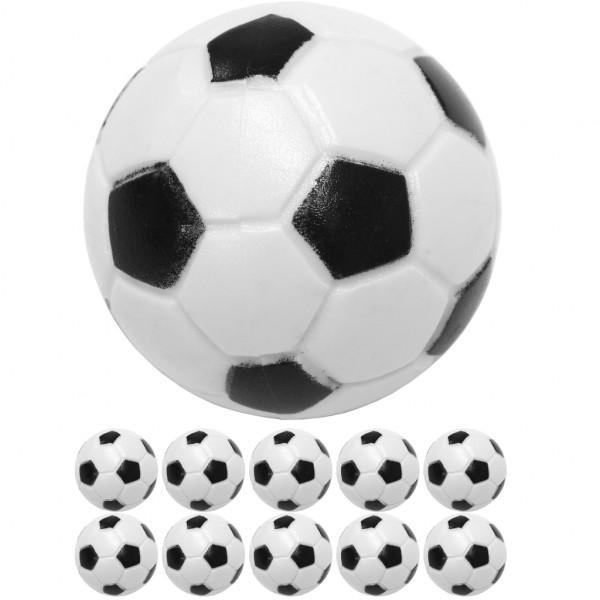 10 Tischfussball Kickerbälle, Ø 31mm