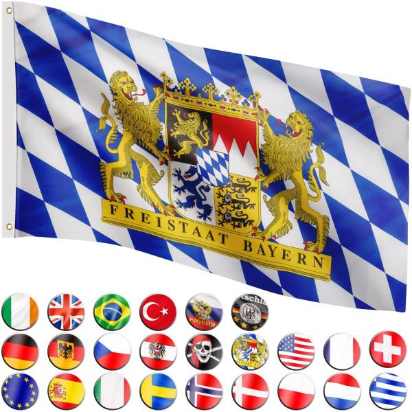 FLAGMASTER® Fahne Bayern Flagge