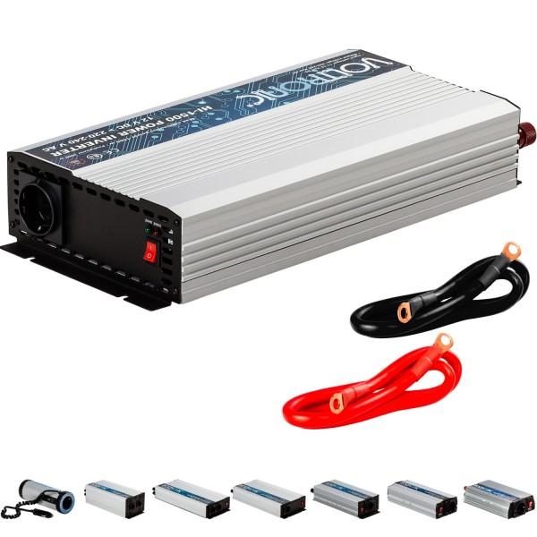 VOLTRONIC® Spannungswandler Inverter 12V auf 230V 1500W