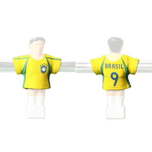 Kicker-Trikot Tischfussball Zubehör, Trikot-Set Brasilien