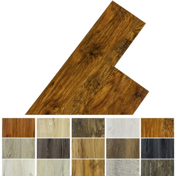 STILISTA® 20m² Vinylboden, Walnuss rustikal rotbraun