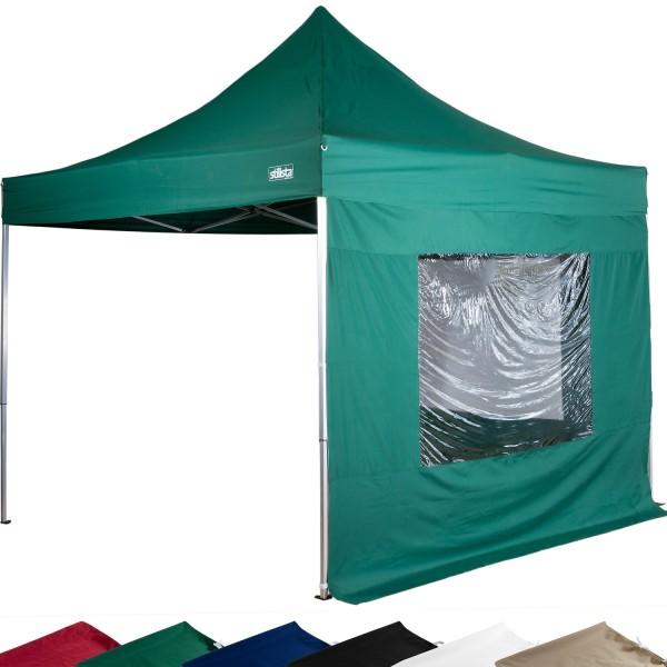 STILISTA® Faltpavillon grün, 3 x 3 m