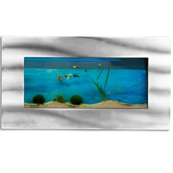 Wandaquarium, Aquarium Komplett-Set, 590x325x110 mm