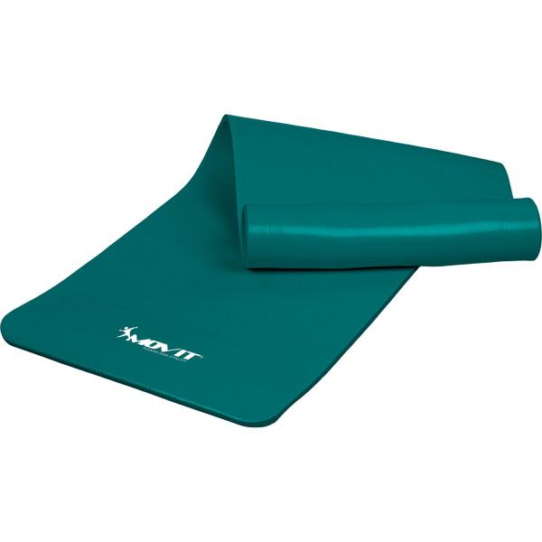 MOVIT® Gymnastikmatte, 190x100x1,5cm, Blau Petrol